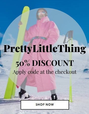 PrettyLittleThing 50% off Coupon