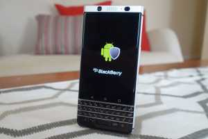 BlackBerry's keyboard-equipped KeyOne Android phone will launch in May