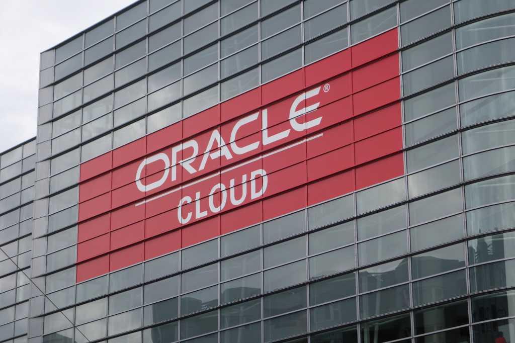 oracle cloud on building
