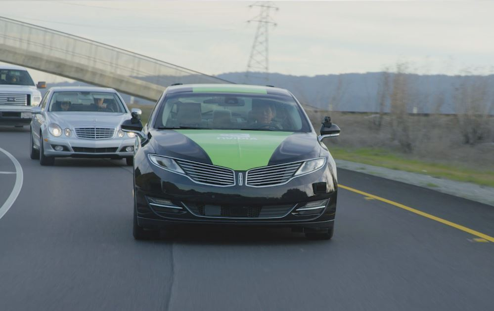 Nvidia's BB8 self-driving car