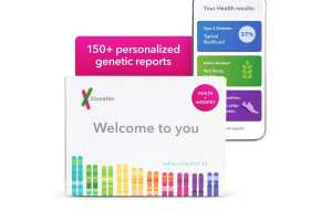 The 23andMe Health + Ancestry test is now $99 (for a 50% saving)