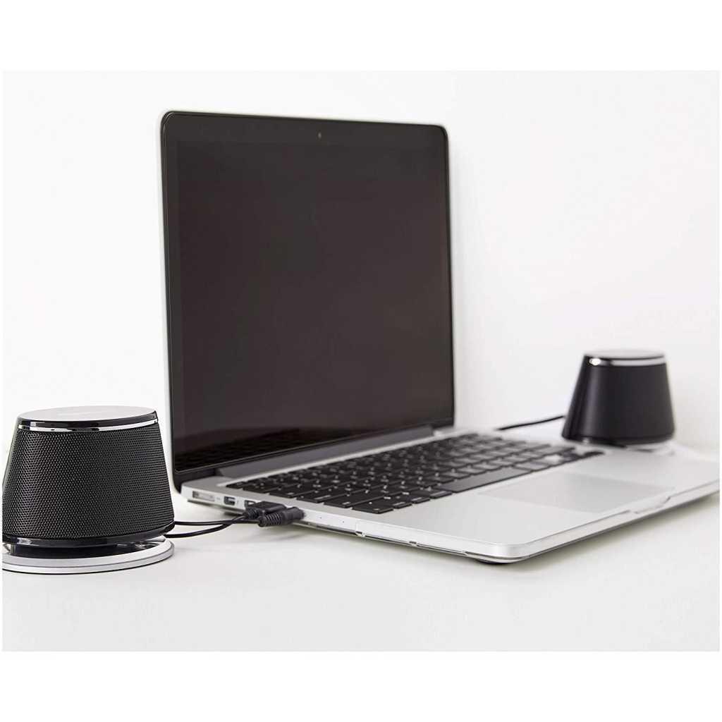 amazonbasics usb powered computer speakers lifestyle