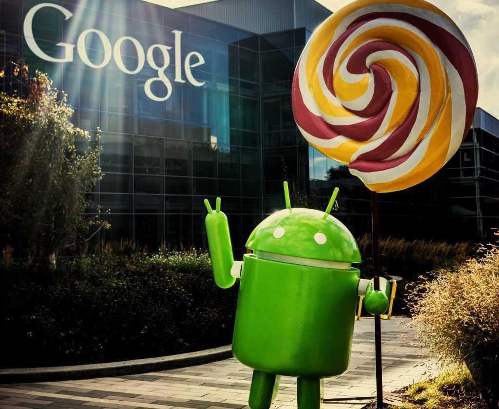 Android Lollipop Google