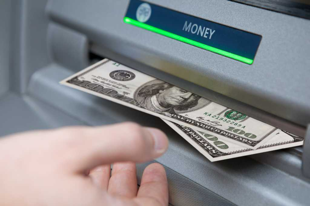 atm cash machine money