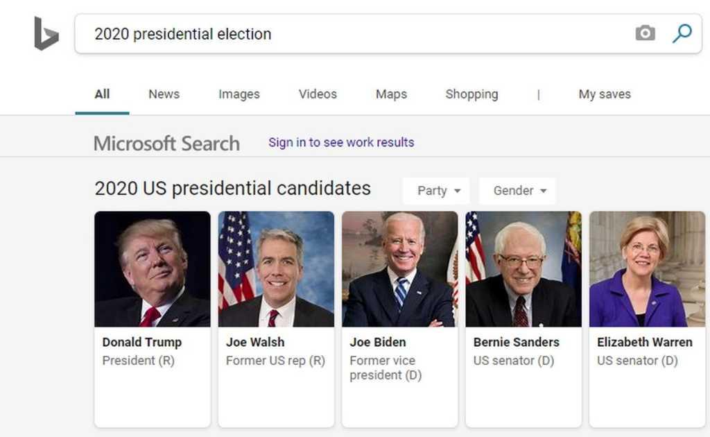 bing election