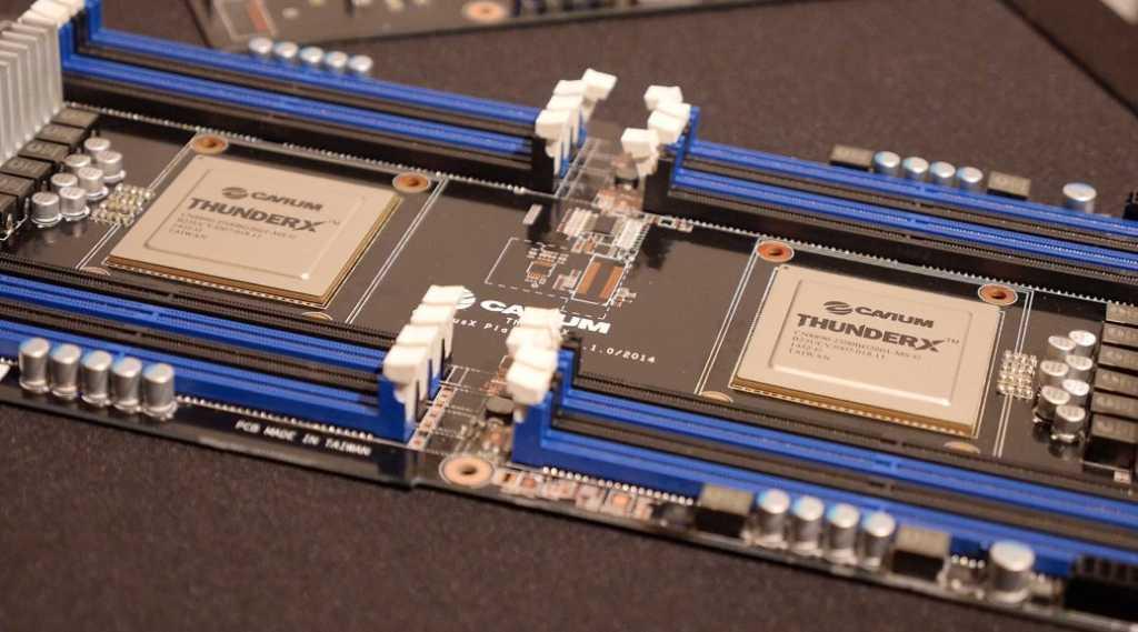 Cavium ThunderX 64-bit ARM processors