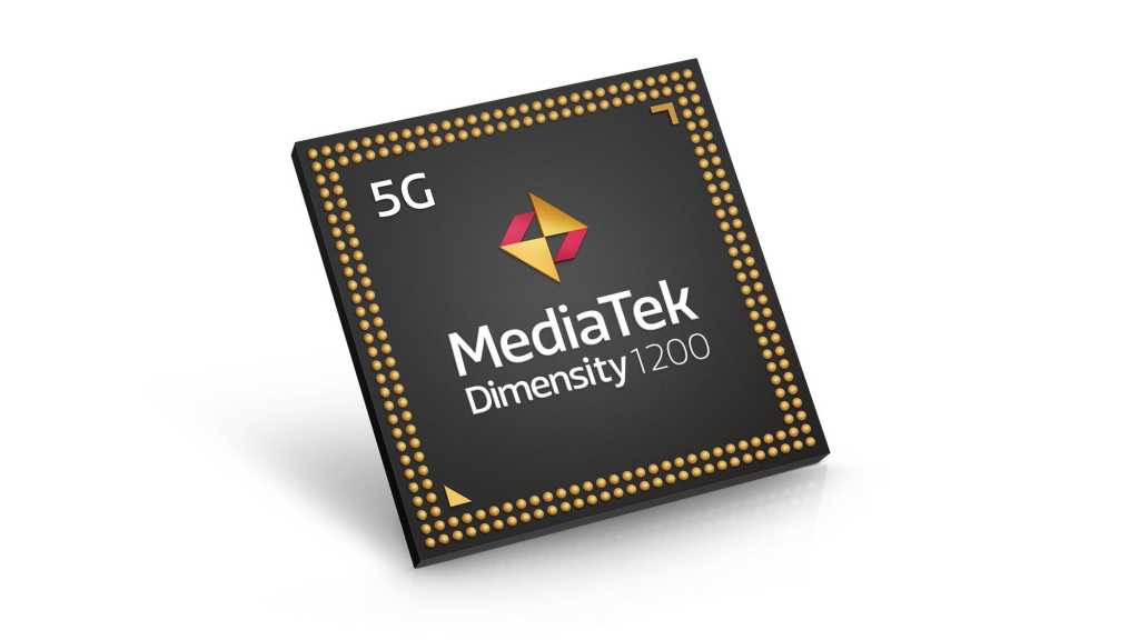 MediaTek dimensity 1200 en tilted