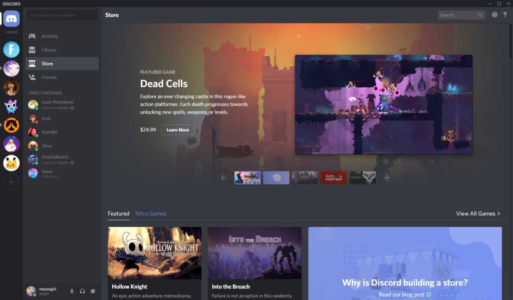 discord store directory