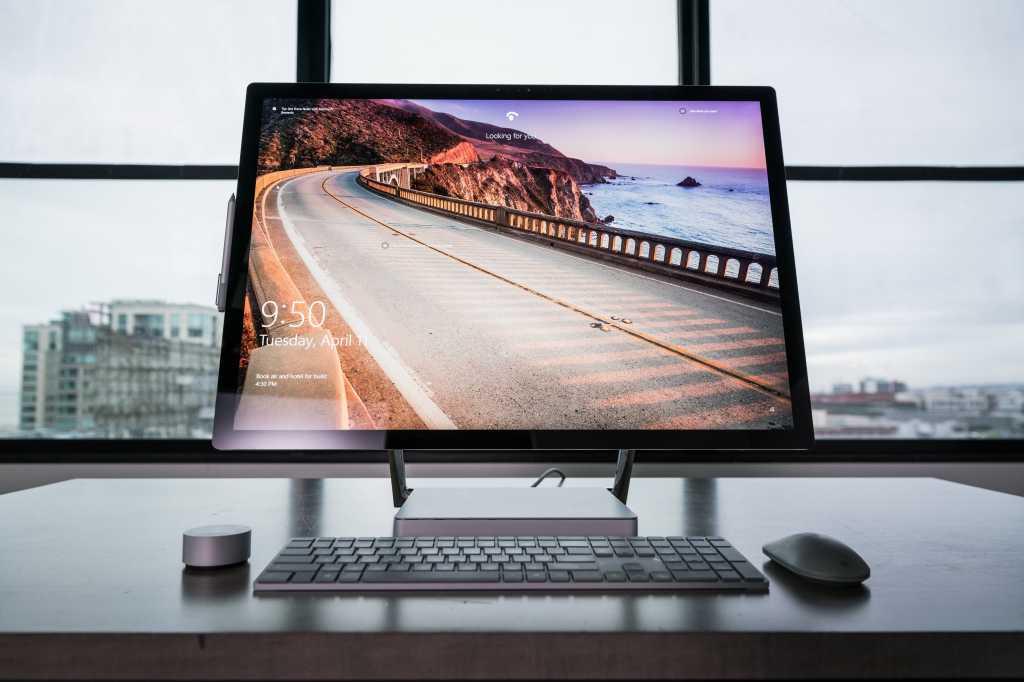 Microsoft Surface Studio hero