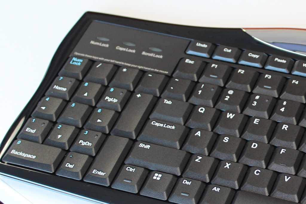 evoluent r3k reduced reach right hand keyboard numeric keypad detail