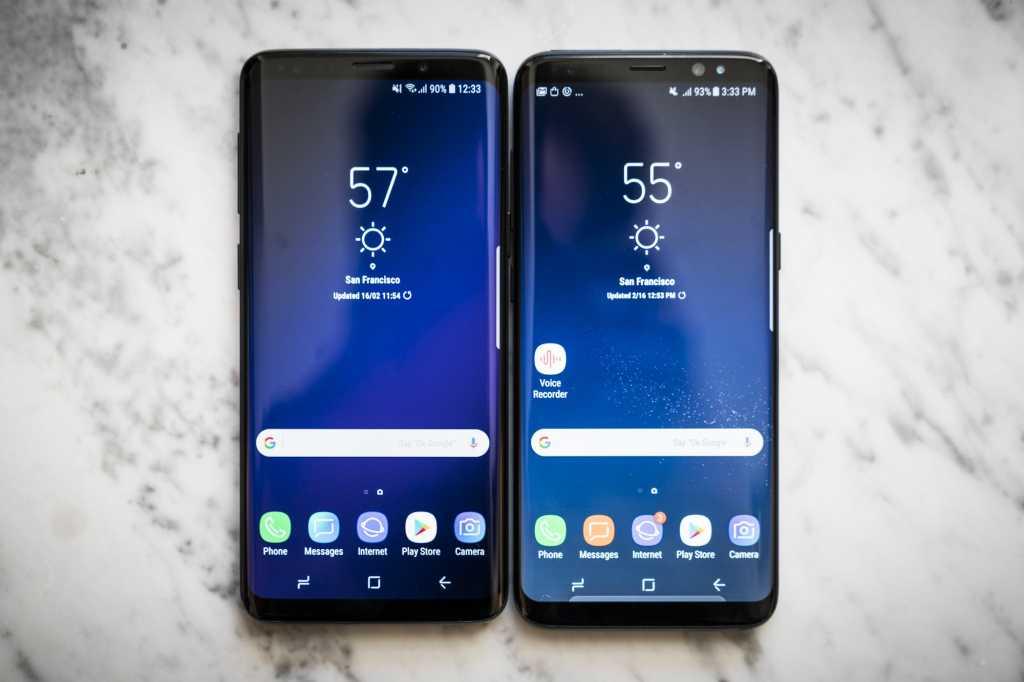 galaxy s8 vs s9