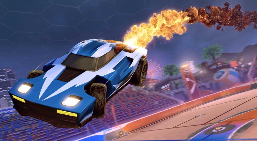 golden cosmos boost rocket league