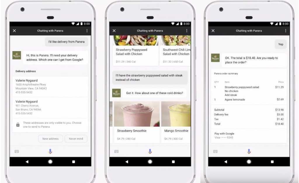 google assistant payments