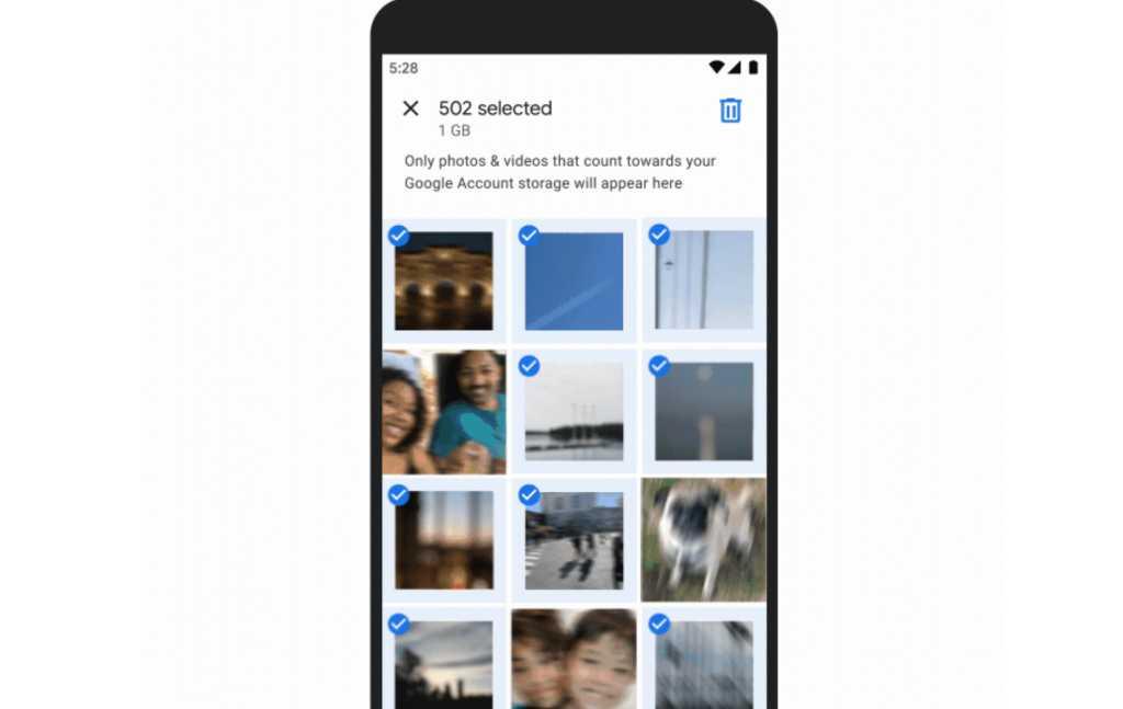 google photos saving data
