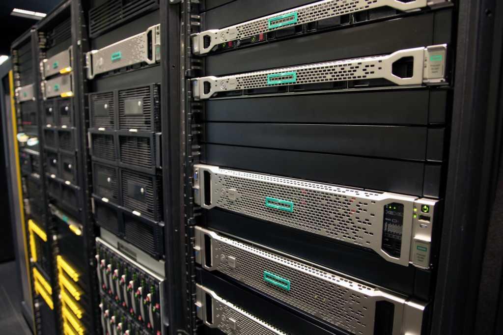 Hewlett Packard Enterprise servers