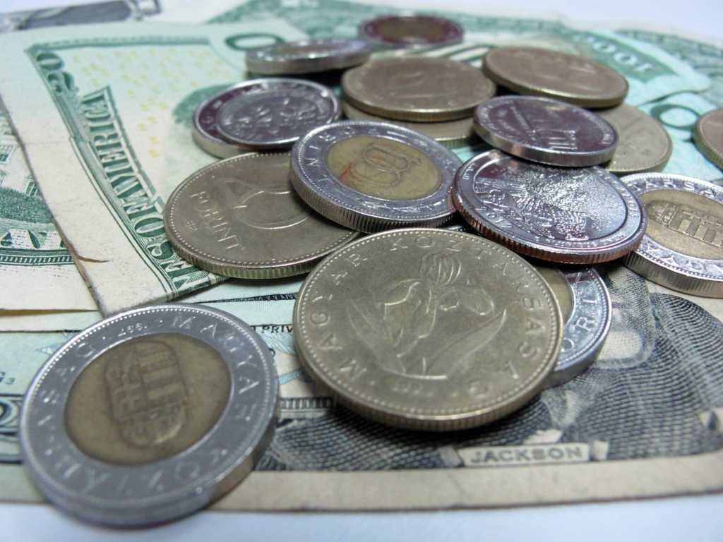 Money currency coins notes