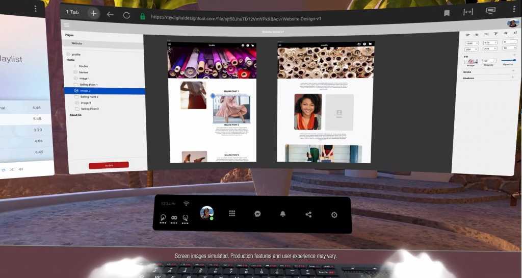 Facebook Infinite Office Oculus Quest 2