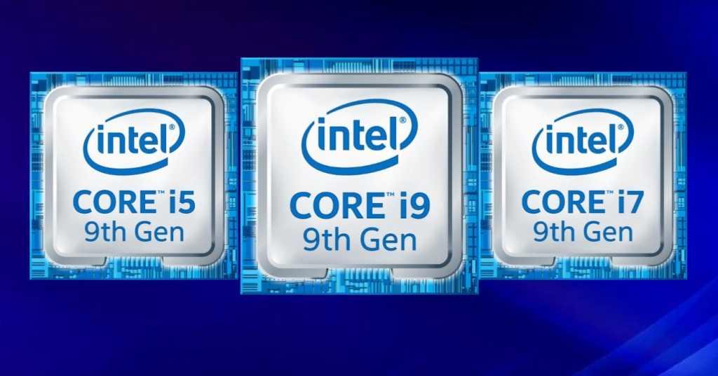 intel 9th gen logo