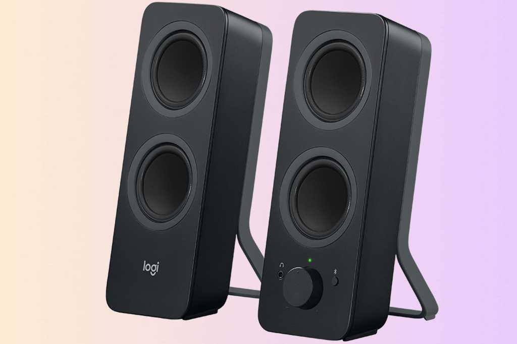 logitech z207 computer speakers primary