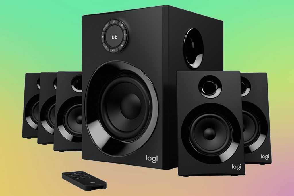 logitech z606 5 1 surround sound primary