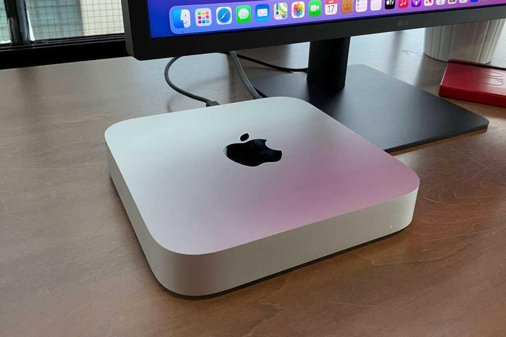 m1 mac mini angle
