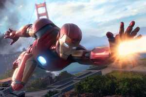 New Marvel's Avengers gameplay tease shows Thor hammering robots, supervillian MODOK