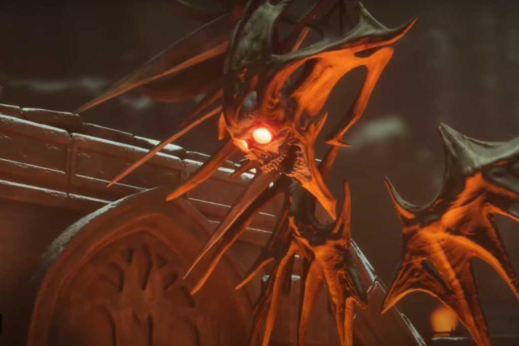 metal hellslinger skeleton monster