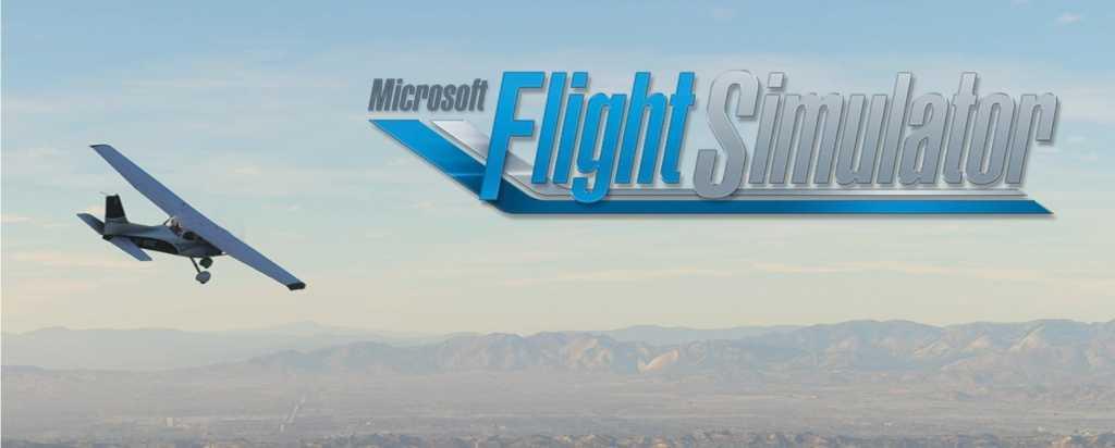 microsoft flight simulator logo