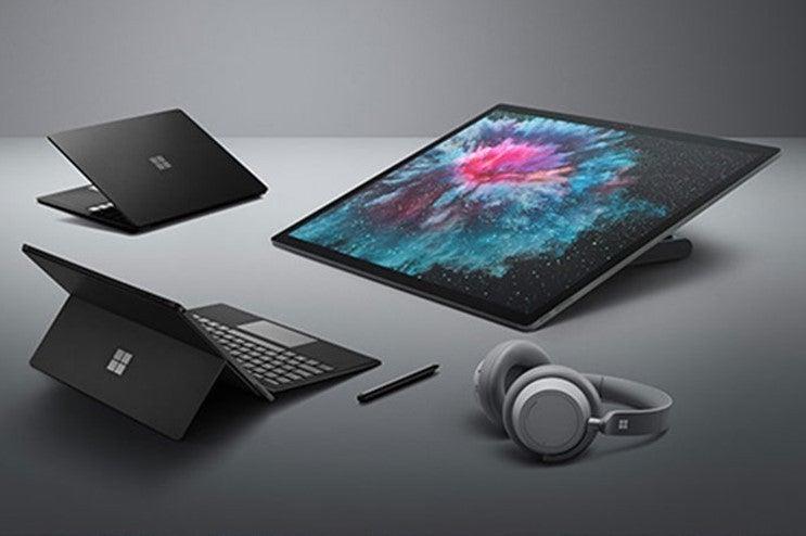 microsoft surface laptop surface pro 6 octobe 2 2018 2