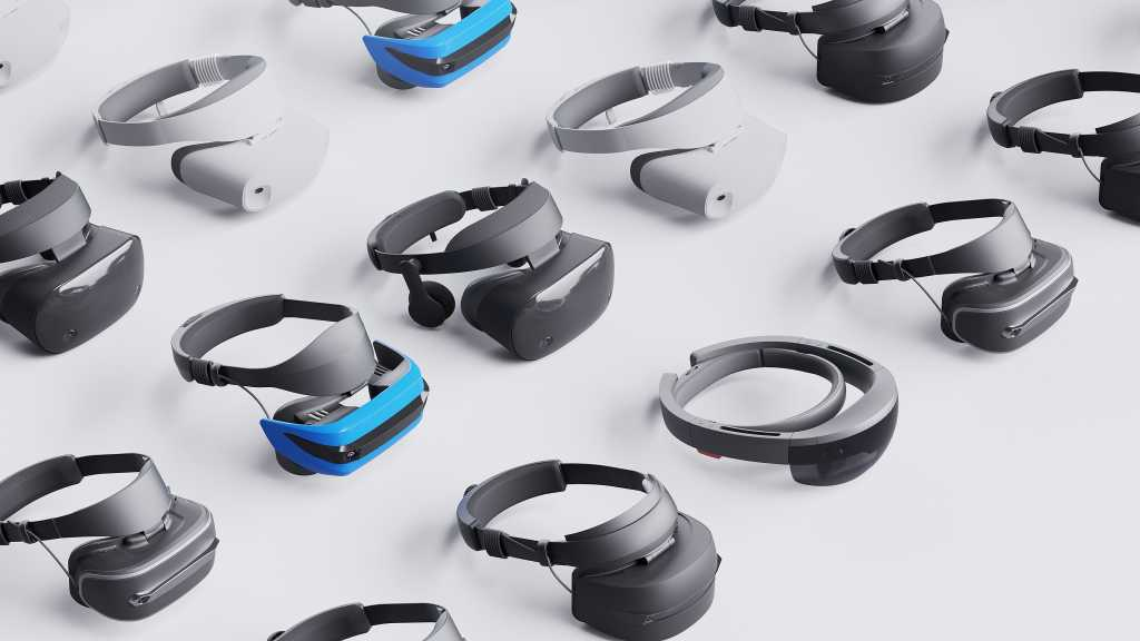 mixed reality headsets HMD