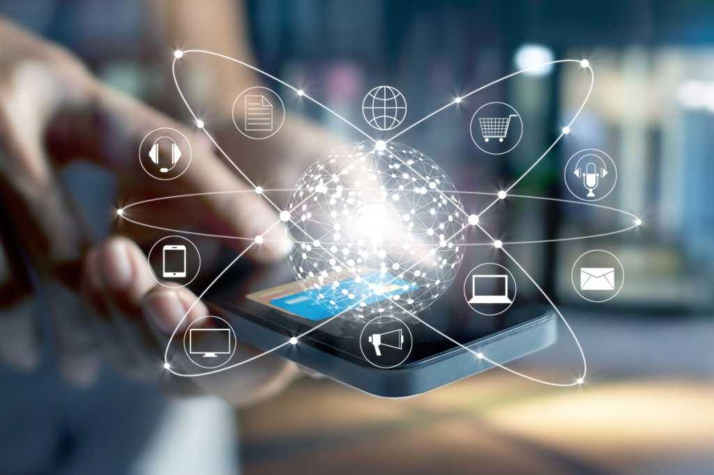 mobile smartphone wireless iot virtual network