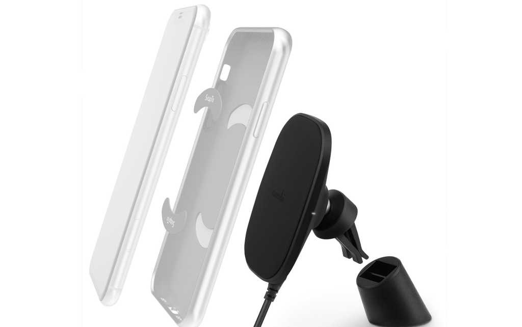 moshi mount and charger