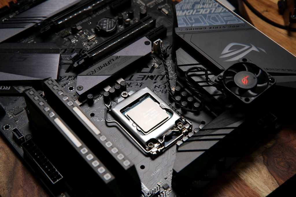 motherboard shot