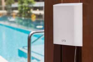 Netgear Orbi Outdoor Satellite review: Great range, but only so-so speed