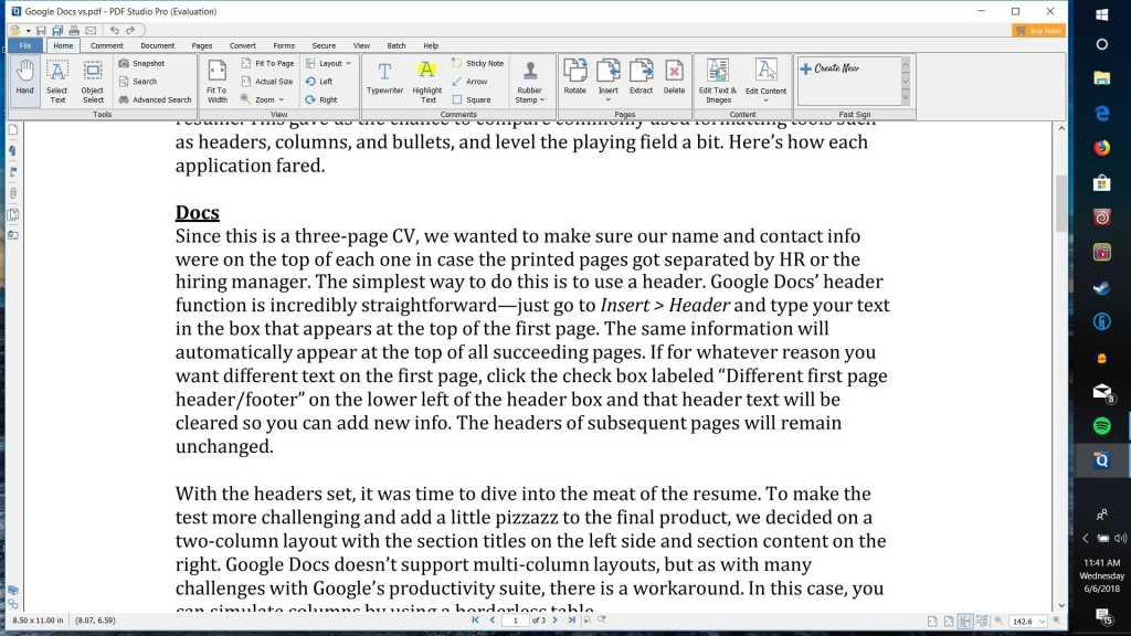 pdf studio interface