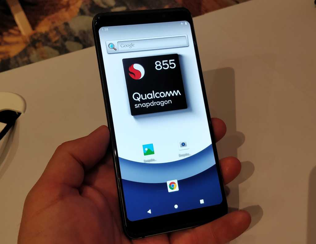 qualcomm snapdragon 855 reference phone