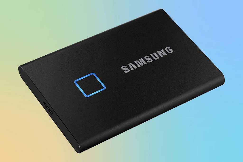 samsung portable ssd t7 touch primary