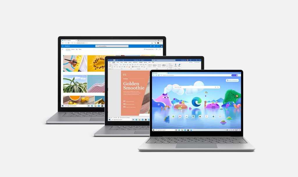 Microsoft surface laptop family