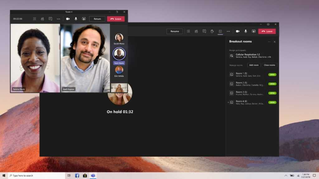 microsoft teams switch breakout rooms