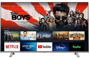 This 50-inch 4K HDR TV with Amazon Fire built-in is just $370