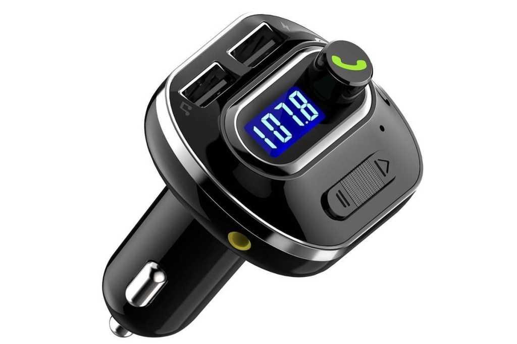 Victsing v4.1 bluetooth in car fm transmitter