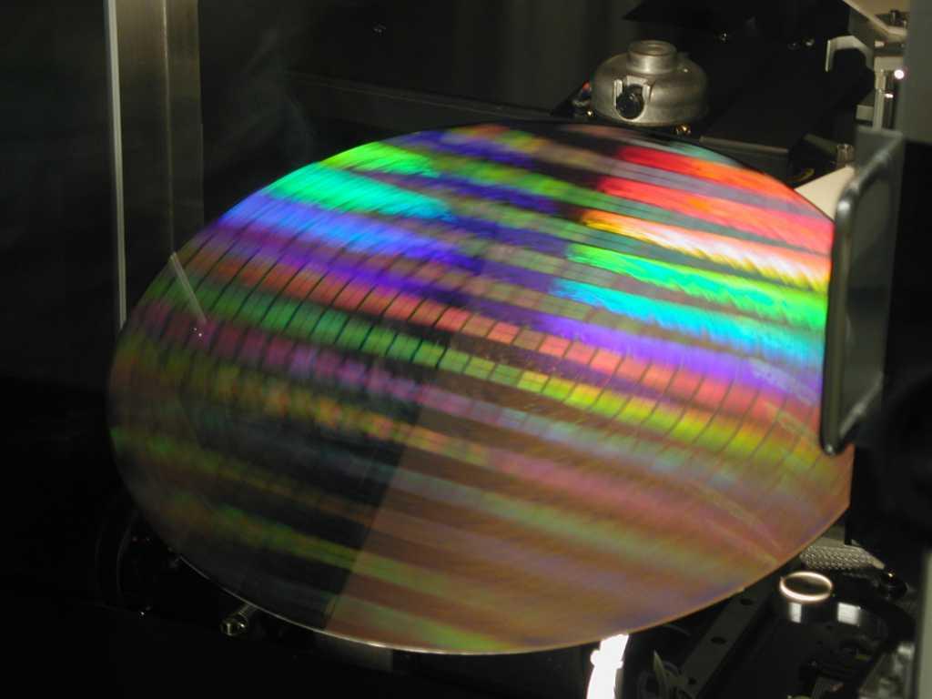 Intel wafer spin