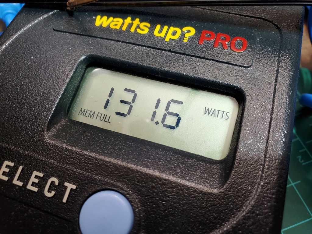 watts up power meter