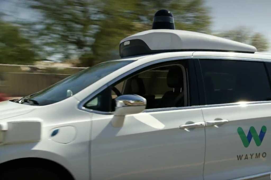waymo self driving car google io 2018 chrysler pacifica detail2