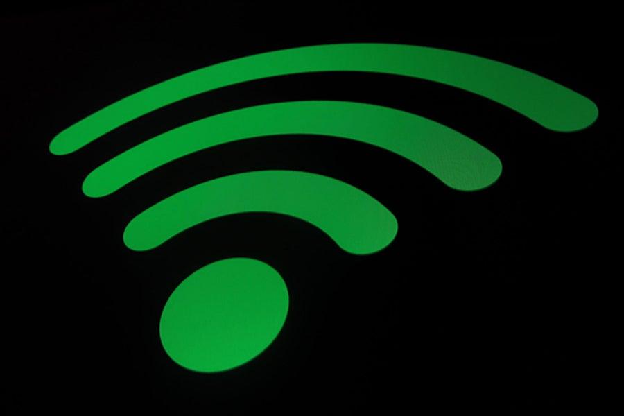 wifi symbol green