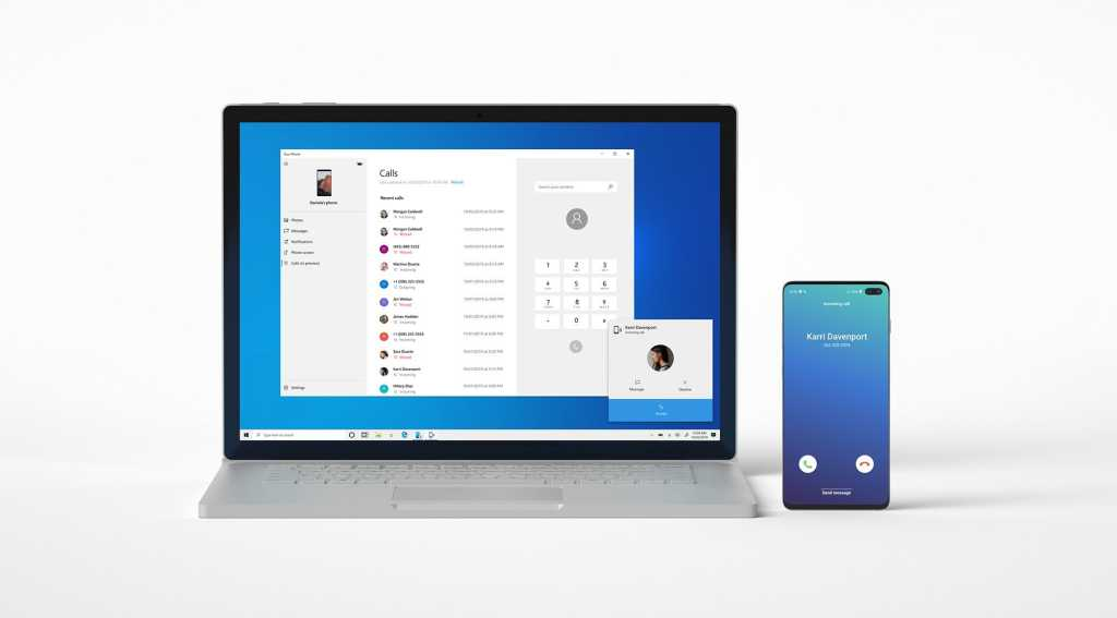 microsoft windows 10 calls your phone