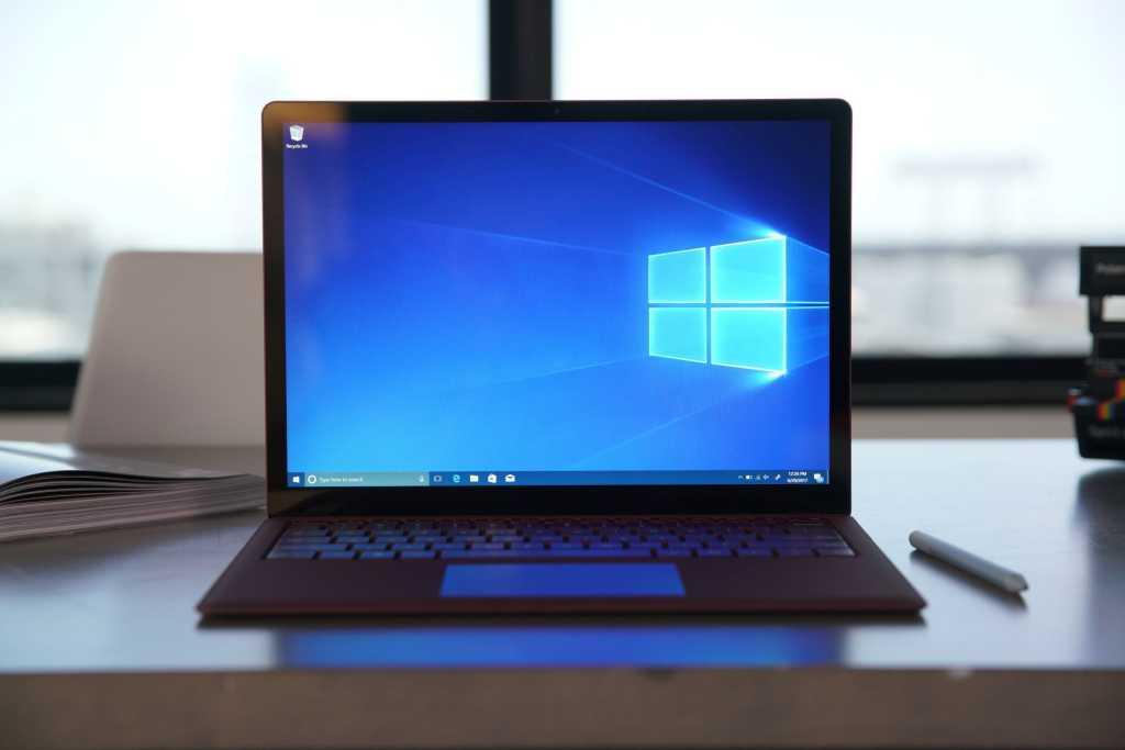 windows 10 surface laptop
