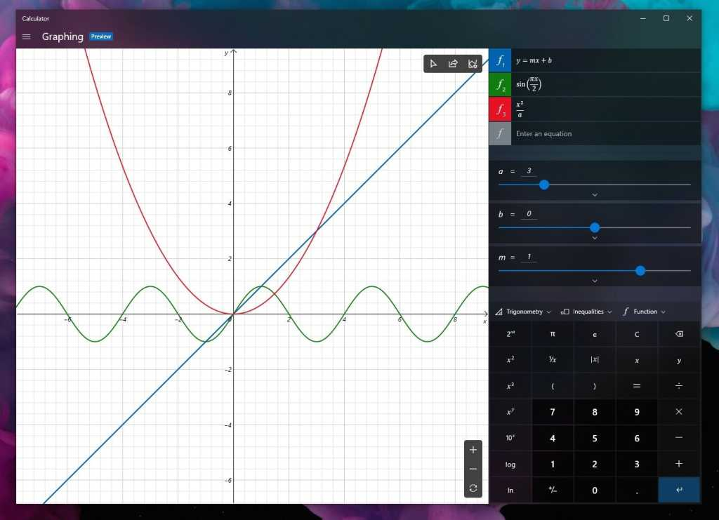 windows calculator graph 2
