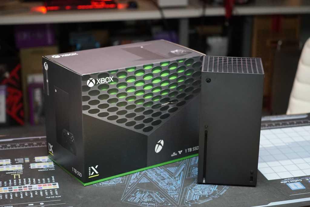 xbox series x with box primary