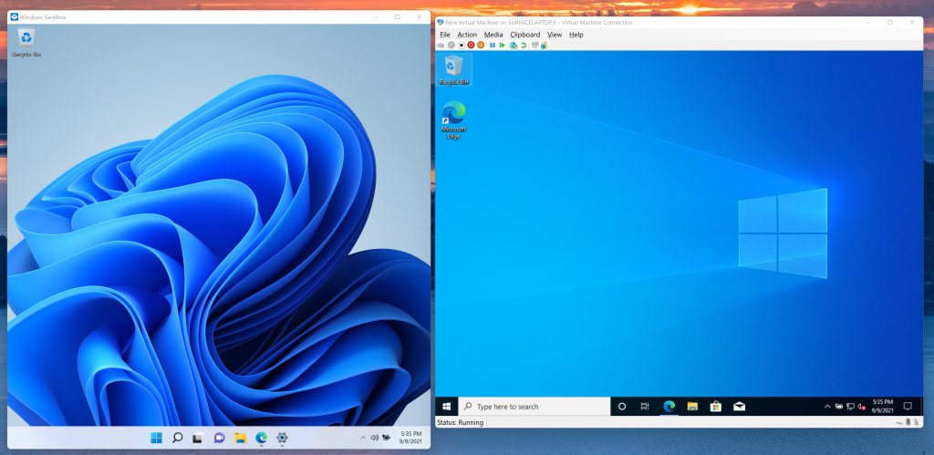 Windows 11 Pro Windows Sandbox Hyper-V